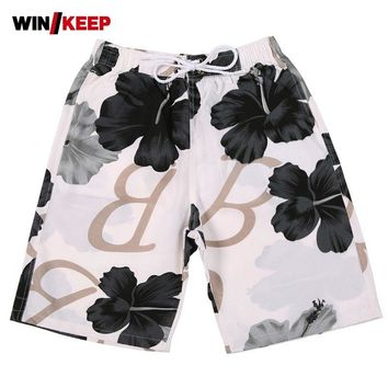 Summer Women Shorts Outdoor Breathable Beach Shorts For Women Surfing Board Pants Streetwear Quick Dry Lovers Flower Print Desig