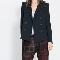 DOUBLE BREASTED BLAZER - Blazers - Woman | ZARA United States