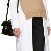 Camel Wool Turtleneck Poncho
