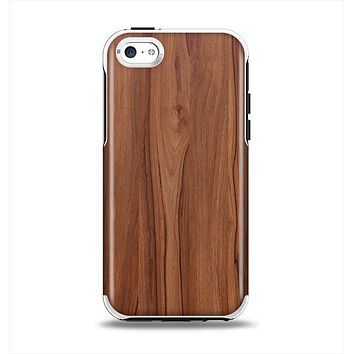 The Smooth-Grained Wooden Plank Apple iPhone 5c Otterbox Symmetry Case Skin Set