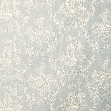 Vervain Fabric 0579401 Hamlet's Toile Silversage