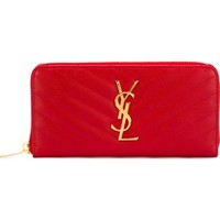 Saint Laurent 'monogram' Wallet - Stefania Mode - Farfetch.com