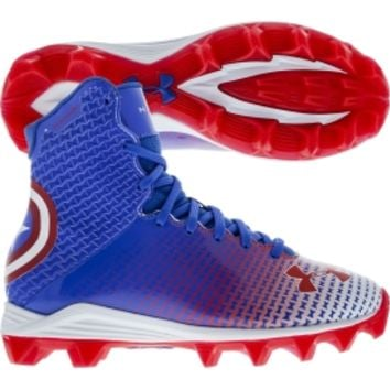 fccbbdc77 Under Armour Kids' Highlight RM Alter Ego Captain America Football Cleat