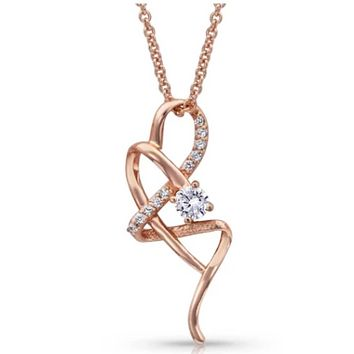 Montana Silversmith ~ It's Rose Gold Complicated Necklace