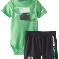 Under Armour Baby-Boys Newborn Branded Block Set Green