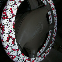 Hello Kitty Steering Wheel Cover