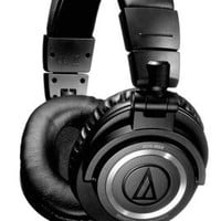 Audio Technica ATHM50 Studio Monitor Headphones