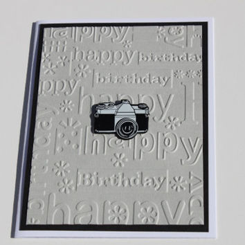 Camera Birthday Card, Photographer
