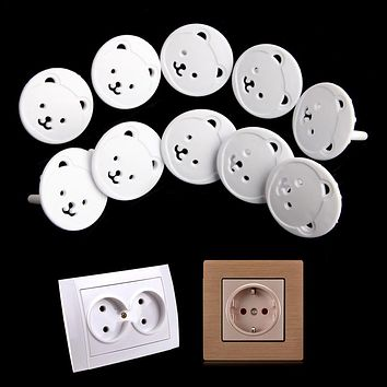 Power Socket Electrical Outlet Baby Kids Child Safety Guard Protection Anti Electric Shock Plugs Protector Cover