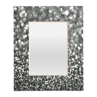 Lisa Argyropoulos Steely Grays Rectangular Mirror