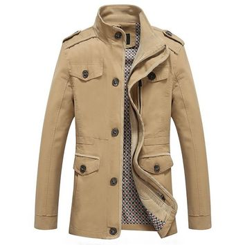 The Lancaster Short Trench Khaki