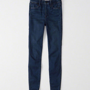 Womens High Rise Ultra Skinny Jean Leggings | Womens Bottoms | Abercrombie.com