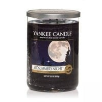 Yankee Candles Tumbler Candle (Large) (Midsummers Night):Amazon:Kitchen & Home