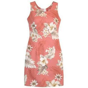 petal hawaiian tank dress