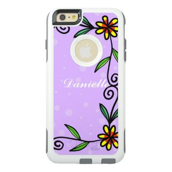 Floral Abstract Design OtterBox iPhone 6/6s Plus Case