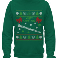 Clarinet - Christmas Sweater Printed clarinet
