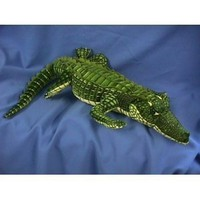 "Fiesta Toys Alligator Lifelike Plush Stuffed Animal, 41""/Large, Green"