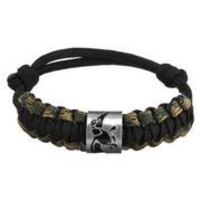 Duck Commander® Survival Bracelet - Black/Camo