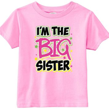 Lil Shirts Little Girls Big Sister Youth And Toddler Graphics Tee