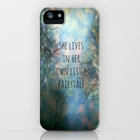 Her Own Fairytale iPhone & iPod Case by Ally Coxon