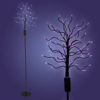 Walmart: LumiSource Fiber Optic Tree Floor Lamp