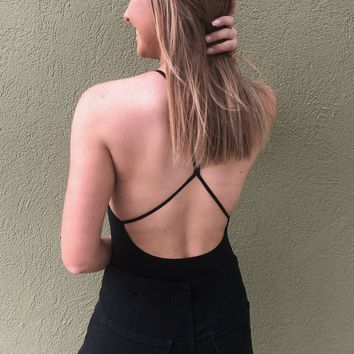 Free People Bodysuit - Black
