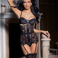 Black Ribbon Lace Up Stretch Lace Waist Cincher @ Wowpink Intimates Clothing online store:Lingerie,Corset,Bustier,Women's Intimates,Sexy Intimate,Corset Intimates,intimates underwear,sheer intimates,silk intimates,intimates bras,holiday underwear,garter b