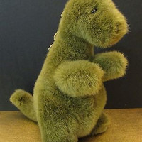dinosour gund plush stuffed animal age 2 multi-color boys and girls