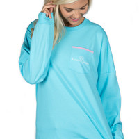 Lauren James Beachcomber Top - Sky Blue
