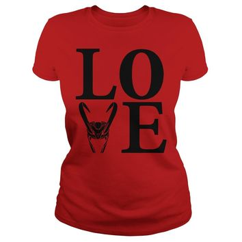 Love Loki shirt Ladies Tee