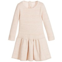 Baby Girls Rosé Pink Knitted Dress