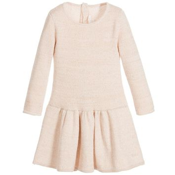 Chloe Baby Girls Rosé Pink Knitted Dress