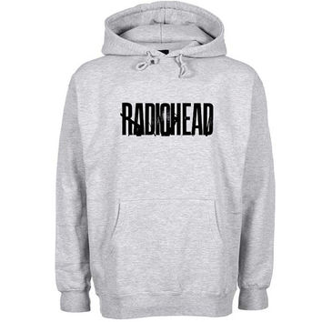 radio head Hoodie Sweatshirt Sweater Shirt Gray and beauty variant color for Unisex size