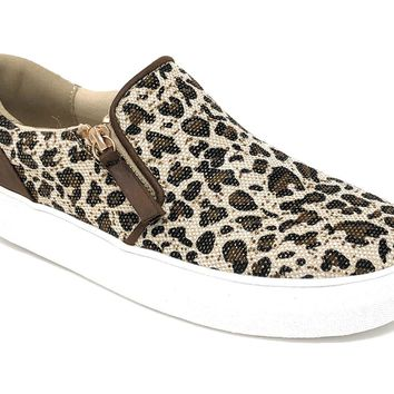 Not Rated Timbre Leopard Fashion Sneakers