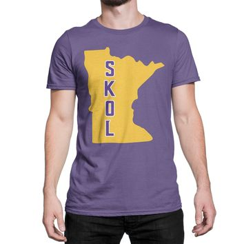 Minnesota Vikings T-Shirt Skol Vikings Shirt Vikings Football Pl 68f2afb61
