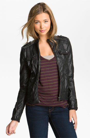 Leather jackets juniors