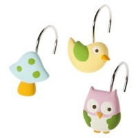 Circo? Love N Nature Owl Shower Hooks