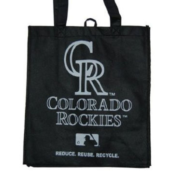 New Eco Friendly Reduce Reuse Recycle MLB Colorado Rockies Tote Bag