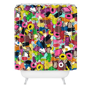 Sharon Turner Sugar Sugar Shower Curtain
