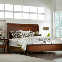 Marquette Queen Size Sleigh Bed