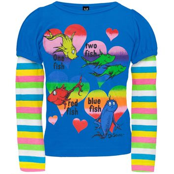 Dr. Seuss - One Fish Two Fish Infant 2Fer T-Shirt