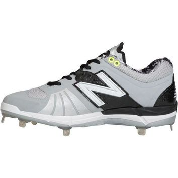 DCCK1IN new balance 3000v2 metal cleats low cut gray black