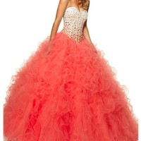 Dressytailor Ballgown Sweetheart Quinceanera Dress Prom Dress with Beading