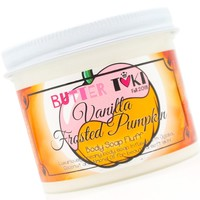 VANILLA FROSTED PUMPKIN Whipped Body Soap Fluff 4oz - Fall Collection 2018