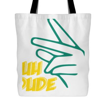 Suh Dude Tote Bag, 18 inches x 18 inches