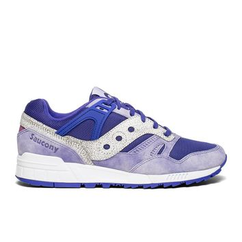 "Saucony - Grid SD ""Garden District"" - Purple / White"