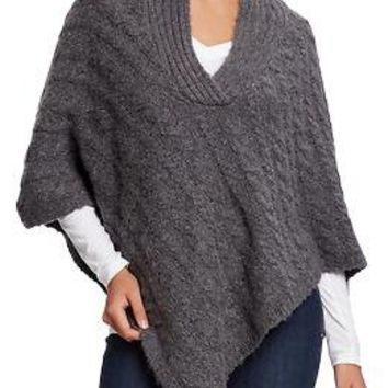 Women's Chunky Cable-Knit Ponchos | Old Navy