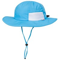 """Baby Wide Brim """"Fun Sun Day Play Hat"""" - UPF 50+ UV Protection for Newborn, Infant, and Baby"""