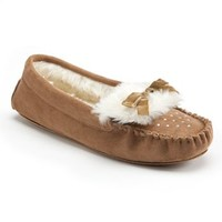 Mudd Bow Moccasin Slippers - Women