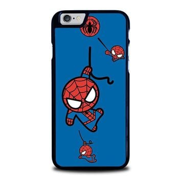 spiderman kawaii marvel avengers iphone 6 6s case cover  number 1